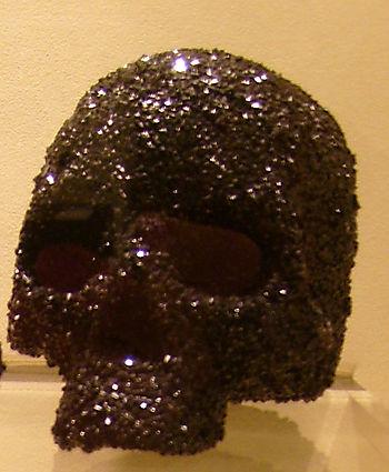 Crystallizes crystal skull