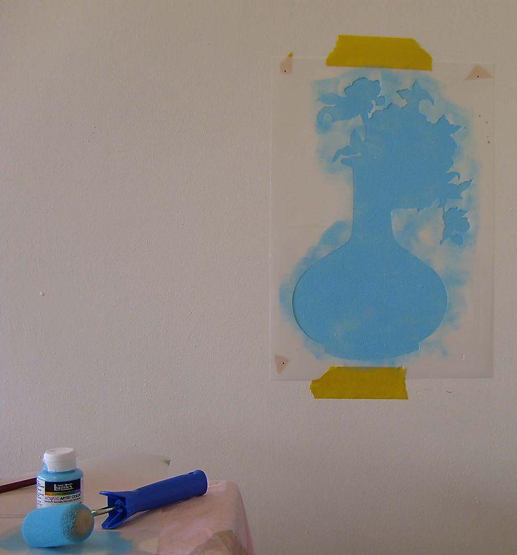 1 silhouette stencil steps9