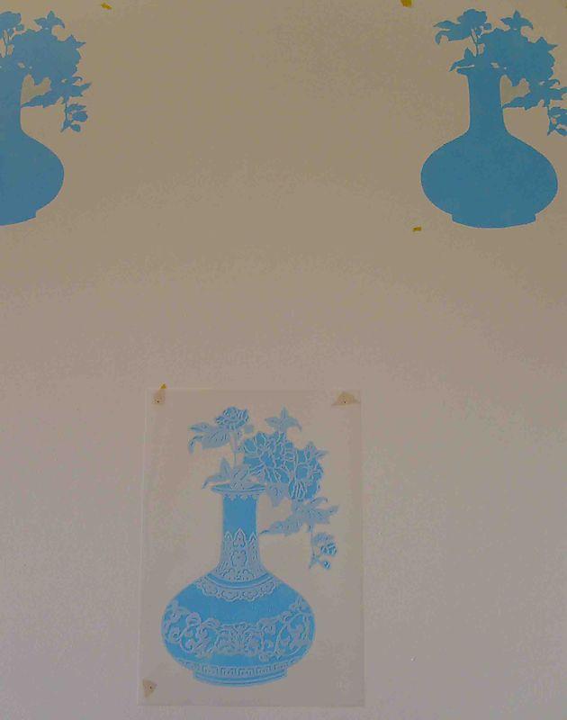 4 silhouette stencil steps50