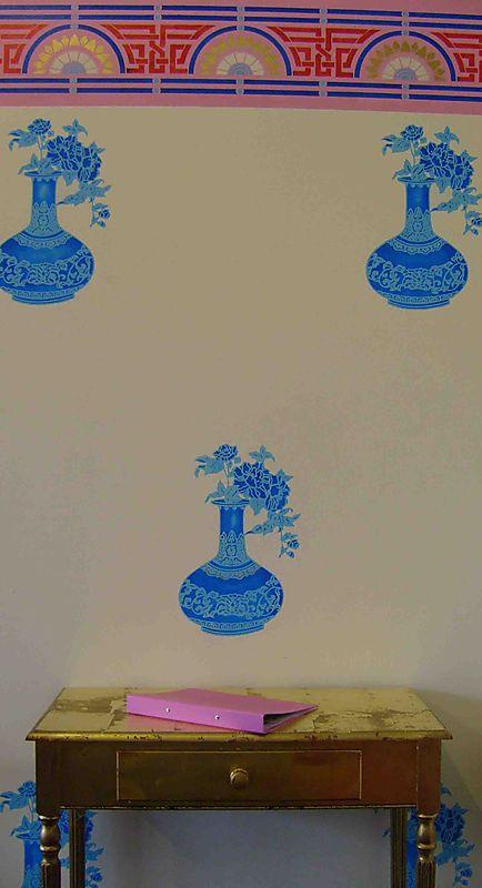 6 silhoutte stencil steps58