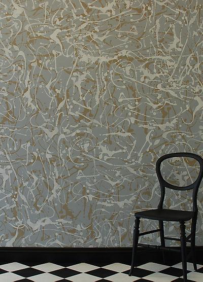 Splatter stencil