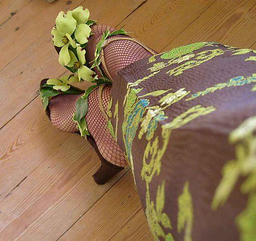 Helen's floral salad shoes 84