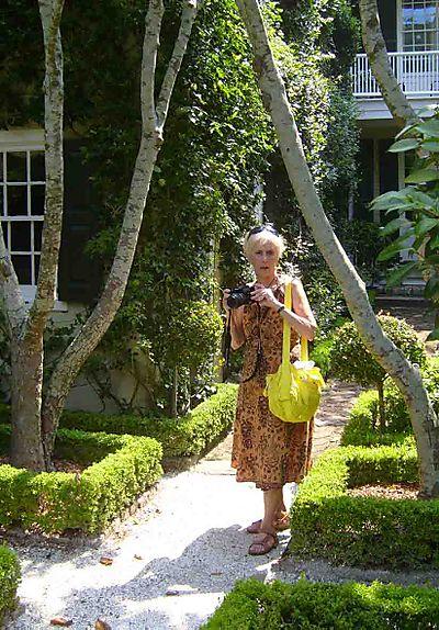Judi in a Charleston Garden 49