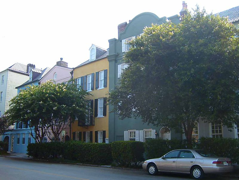 Rainbow Row Charleston 1