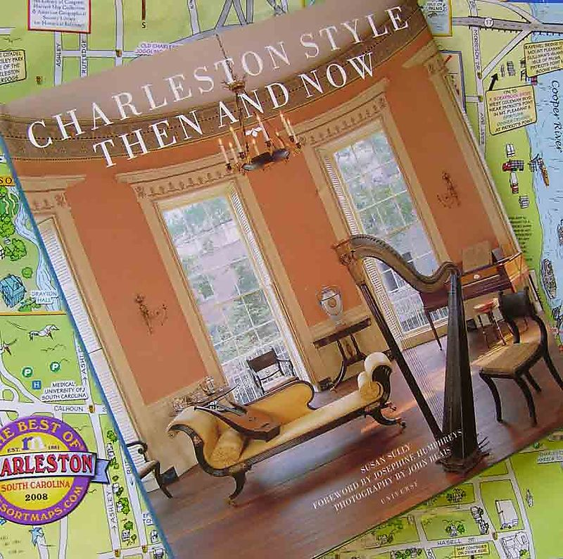 Charleston then & now book