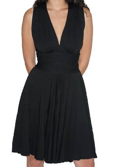 Black jersey Butter Dress jpg