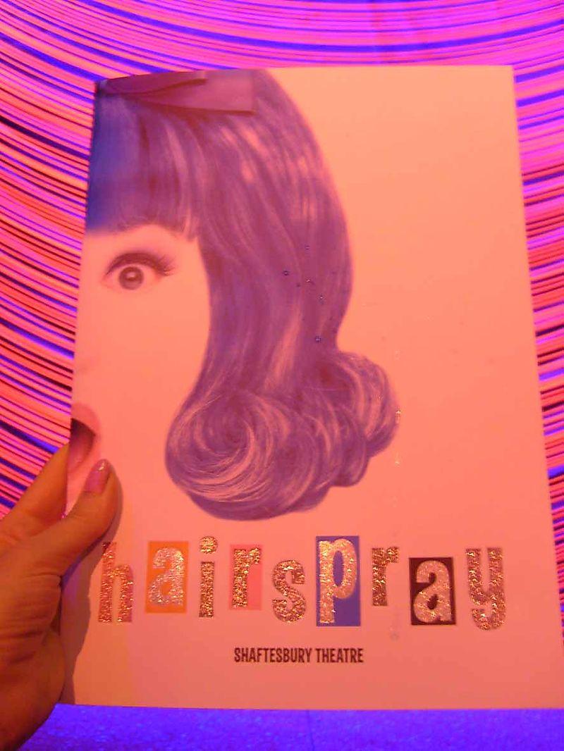 Hairspray program 11