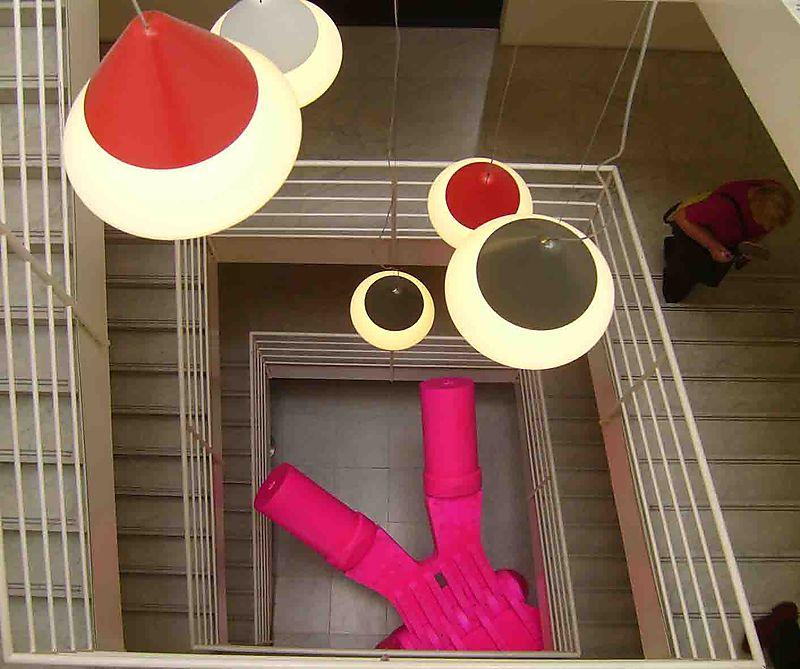 Design centre stairwell