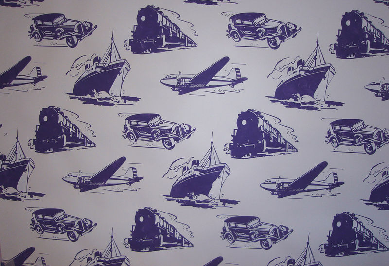 46 Transport Toile cut out