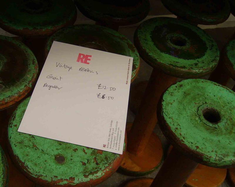 4 Re Corbridge vintage bobbins