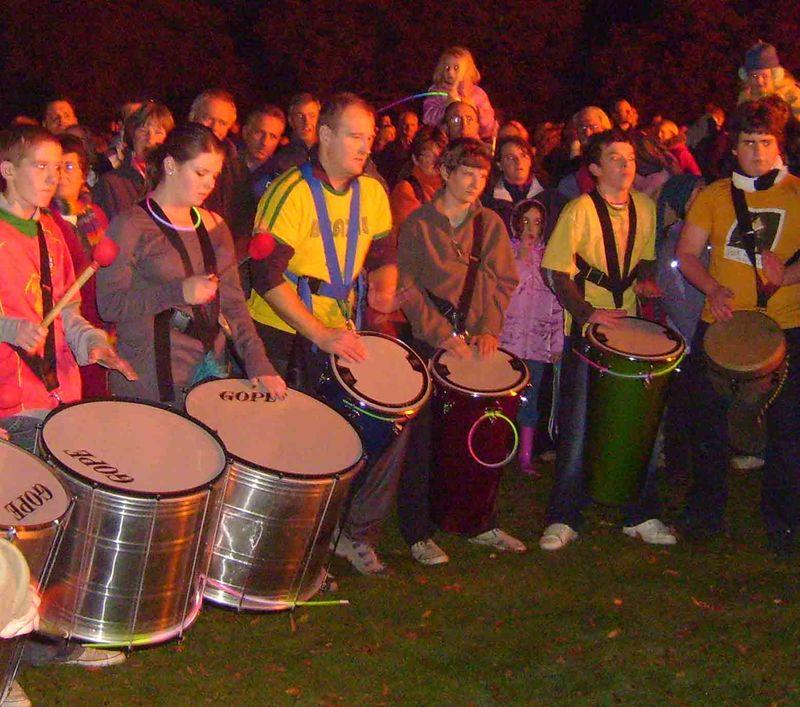 Hexham drummers 2648
