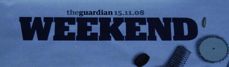 Guardian Weekend stencil feature33