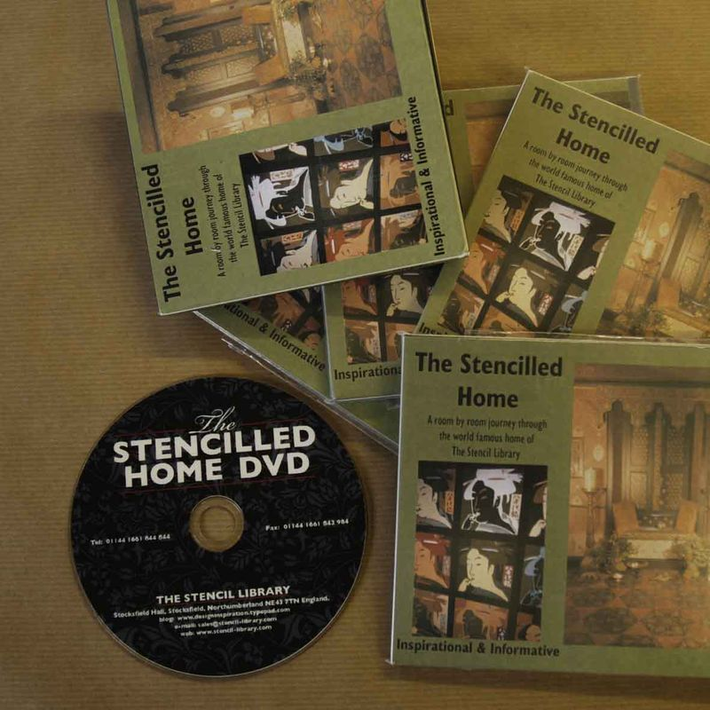 The Stencilled Home DVD