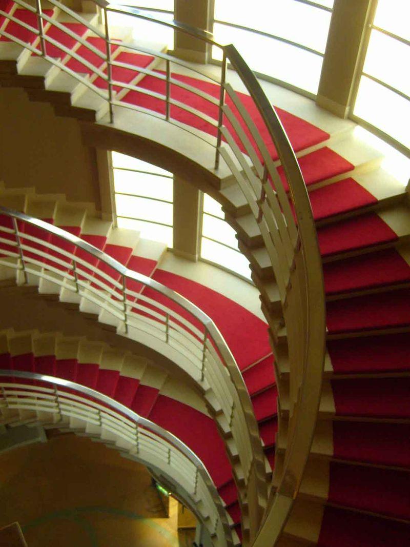 Midland Hotel stairs 54