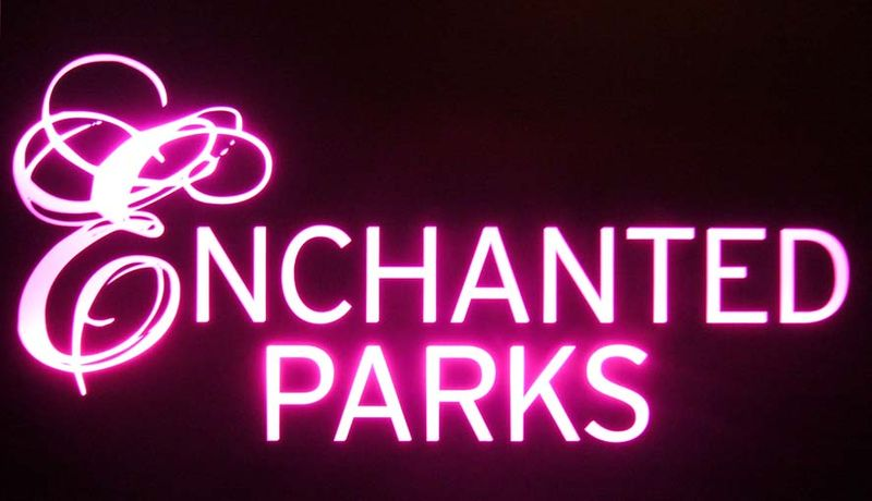 Enchanted parks title