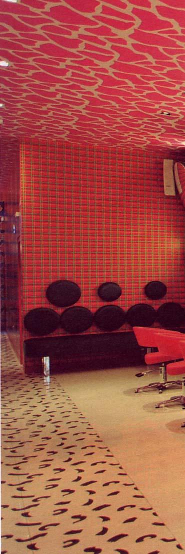 Dublin salon small detail