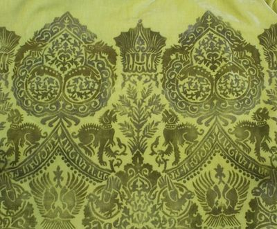 O fortuny the joys of stencilled velvet design inspiration once i started reading up on fortuny i became inspired to create some stencilled velvet clothing myself a la fortuny he tended to favour metallic colours sisterspd