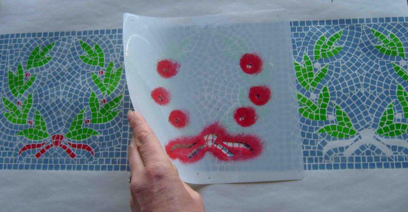4 stenciling mosaic stencil 20 EM