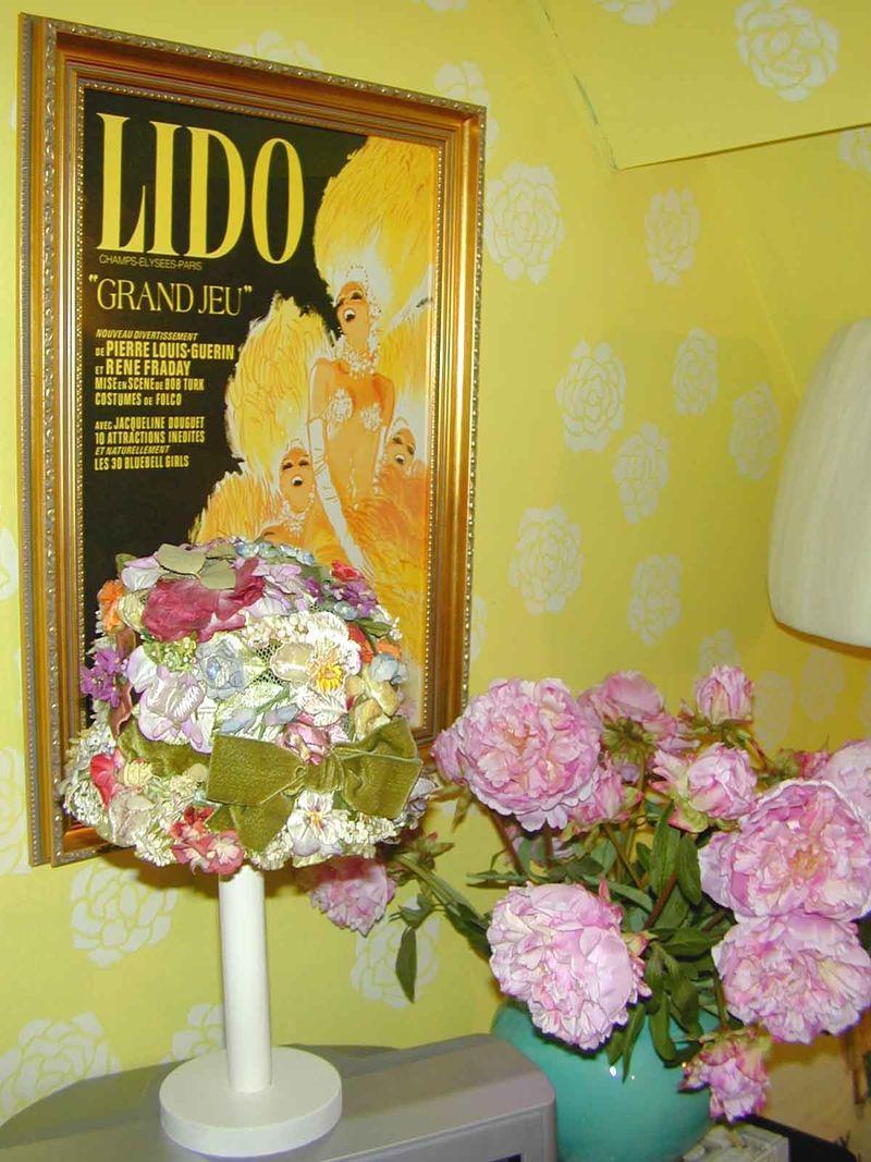 Rachel's yellow lounge Lido posterEM23