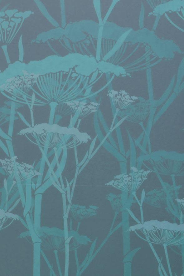 Fennel in aqua detail
