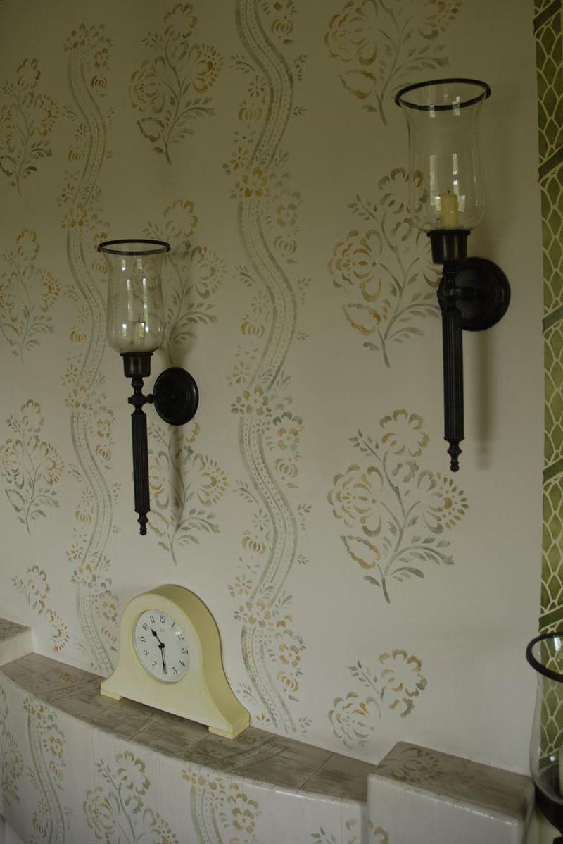 Gustavian room BW25 22-2