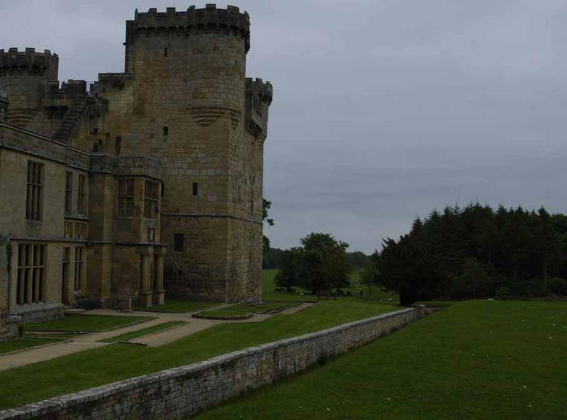 Belsay Castle haha 07