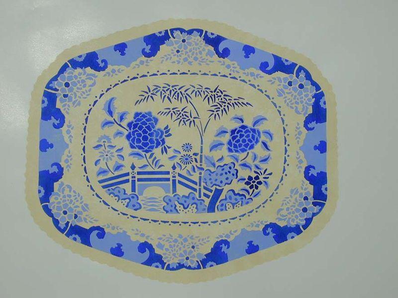 BW13 stencilled plate