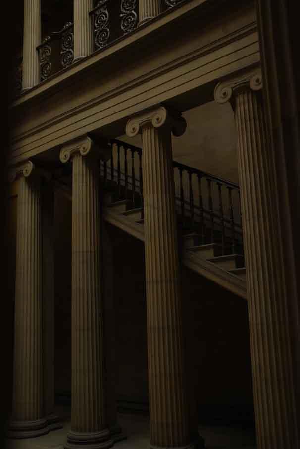 Belsay Pillars 30
