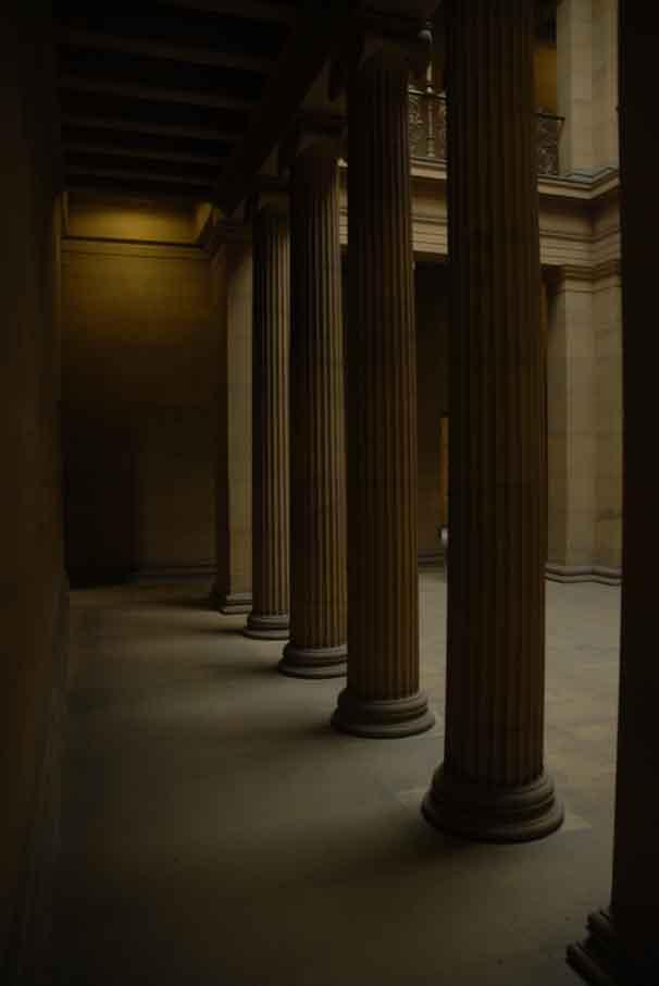 Belsay pillars 33