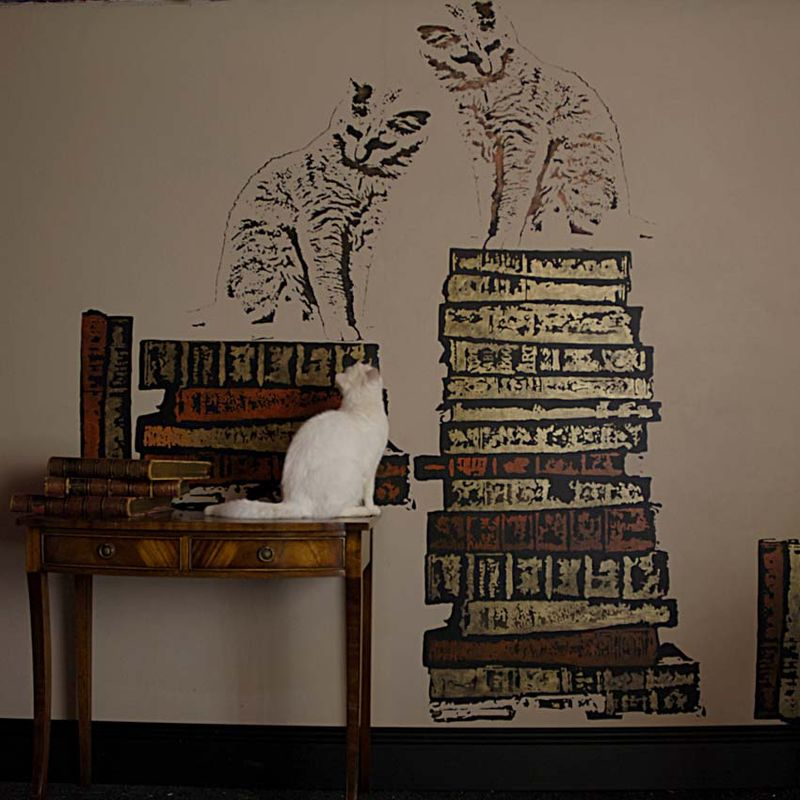 Spike, cat and book stencils.36 tweaked