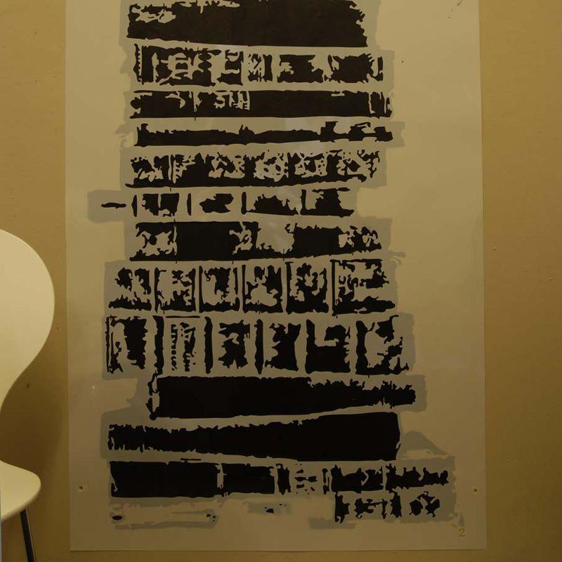 7 stencil two
