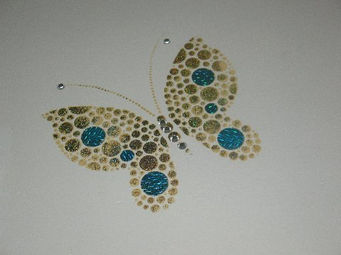 Stencil Library Bonzeart butterfly