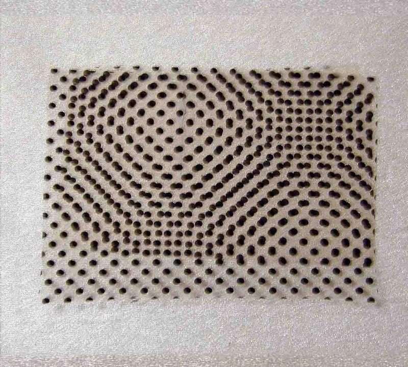 Printers Dots test piece