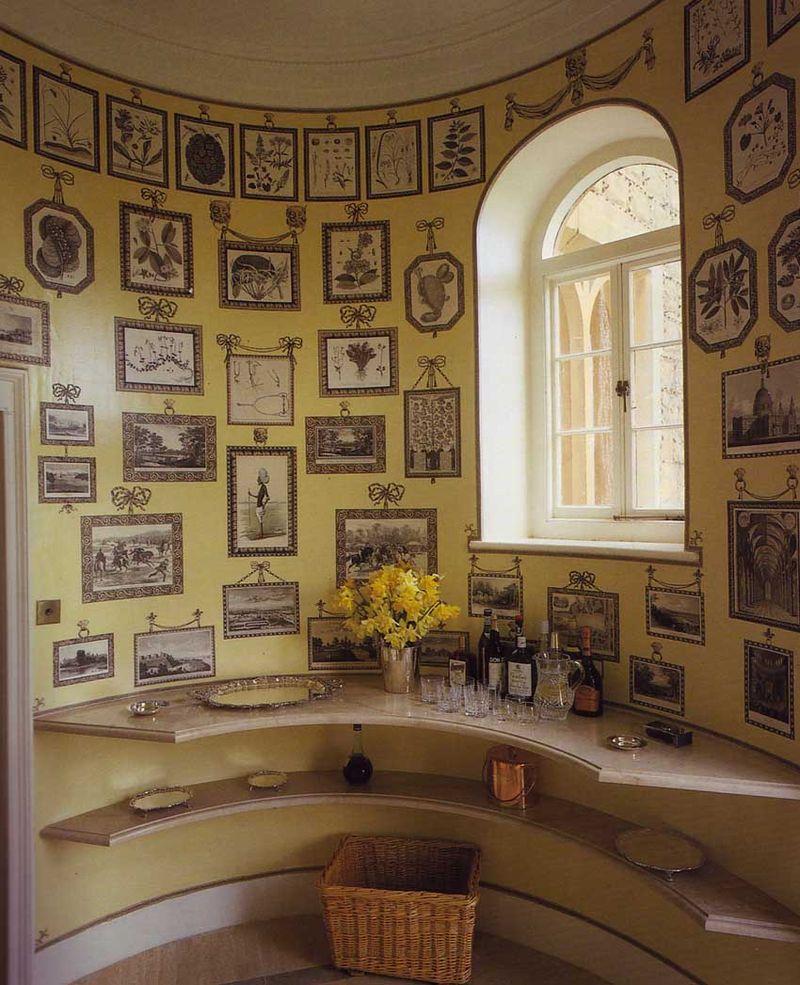 Print room yellow paper magic-1