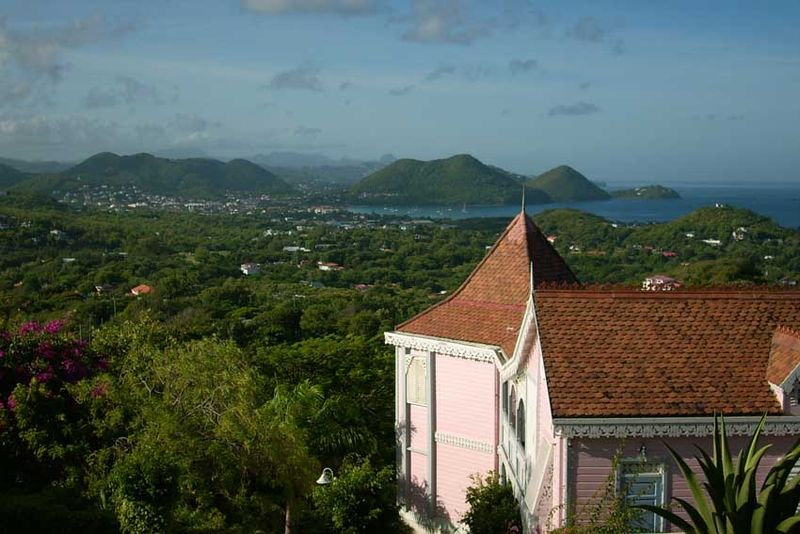 4 from mount du cap St Lucia