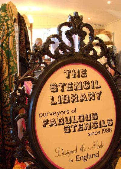 Stencil library tarset 14