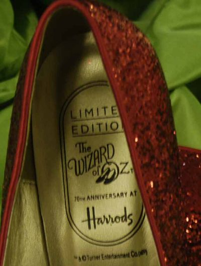 Harrods shoe label 4154