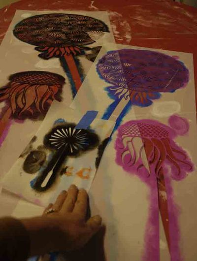Dandelion free stencil 2 96