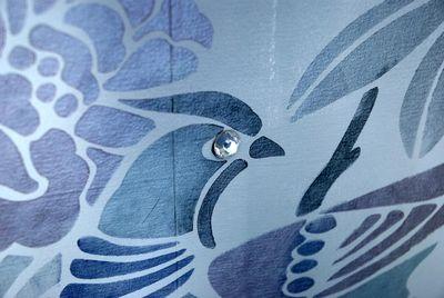 10 Birds Eye iridescent paint EM