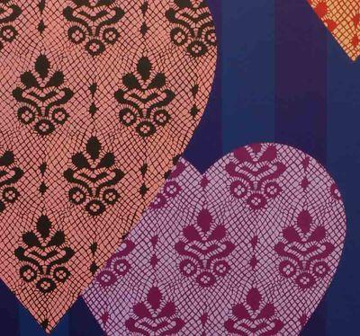DM16 Hearts & lace cu em