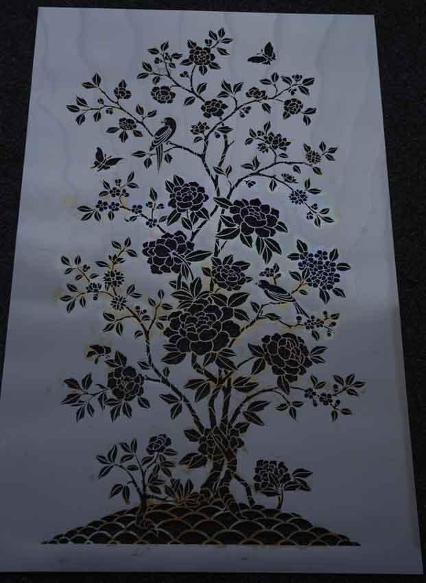 CH free stencil 5575