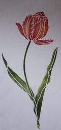 Tulip stencil library_5855