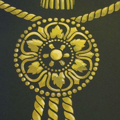 Print room tassle detail em64