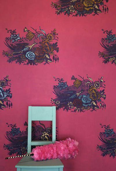 Chinoise silhouette stencil blog