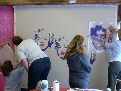 June stencil 2 class 4