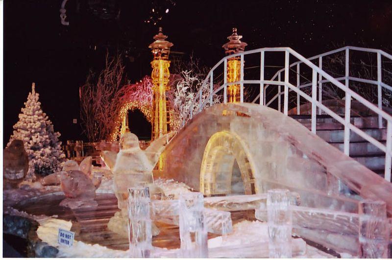 Ice sculpture nashville