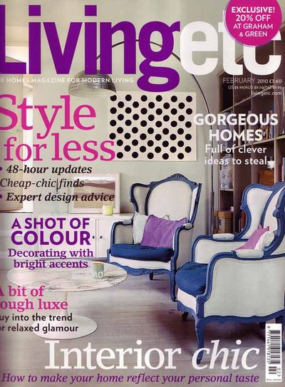 Living etc cover dot stencil library