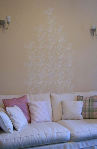Ja47 stencil mum's wall 4545