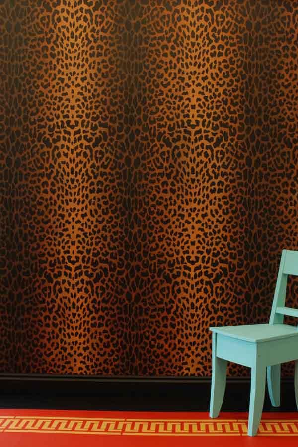 MD Leopard stencil 0014