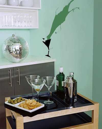 GREEN GLASS stencil library em